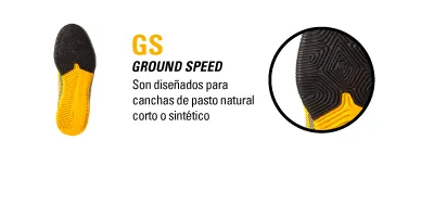 TIPO DE BOTIN GS GROUND SPEED