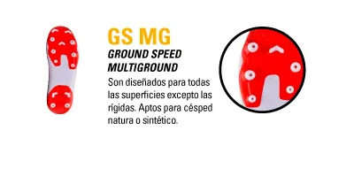 TIPO DE BOTIN GS MG GROUND SPEED MULTIGROUND