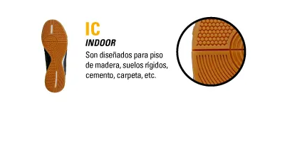 TIPO DE BOTIN IC INDOOR