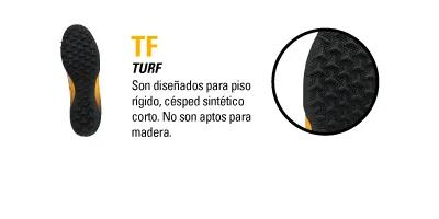 TIPO DE BOTIN TF TURF