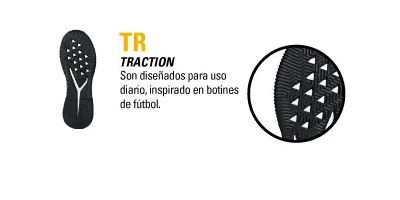 TIPO DE BOTIN TR TRACTION